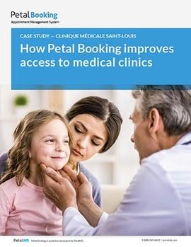 Étude de cas Petal Booking Clinique Saint-Louis