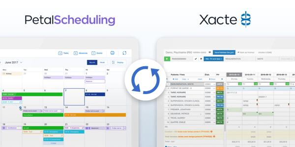 Intégration Xacte Petal Scheduling