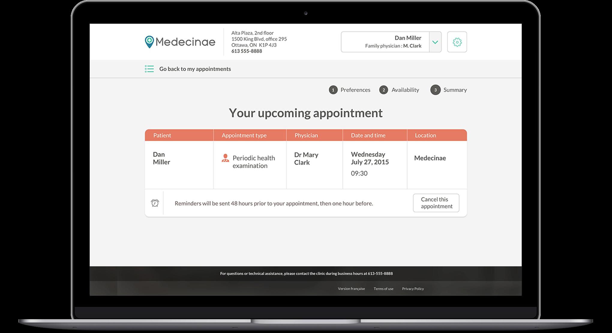Patient Online Booking Software