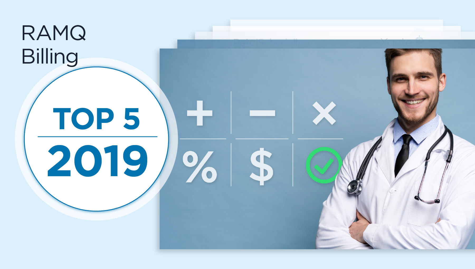 RAMQ Medical Billing Top 5 2019