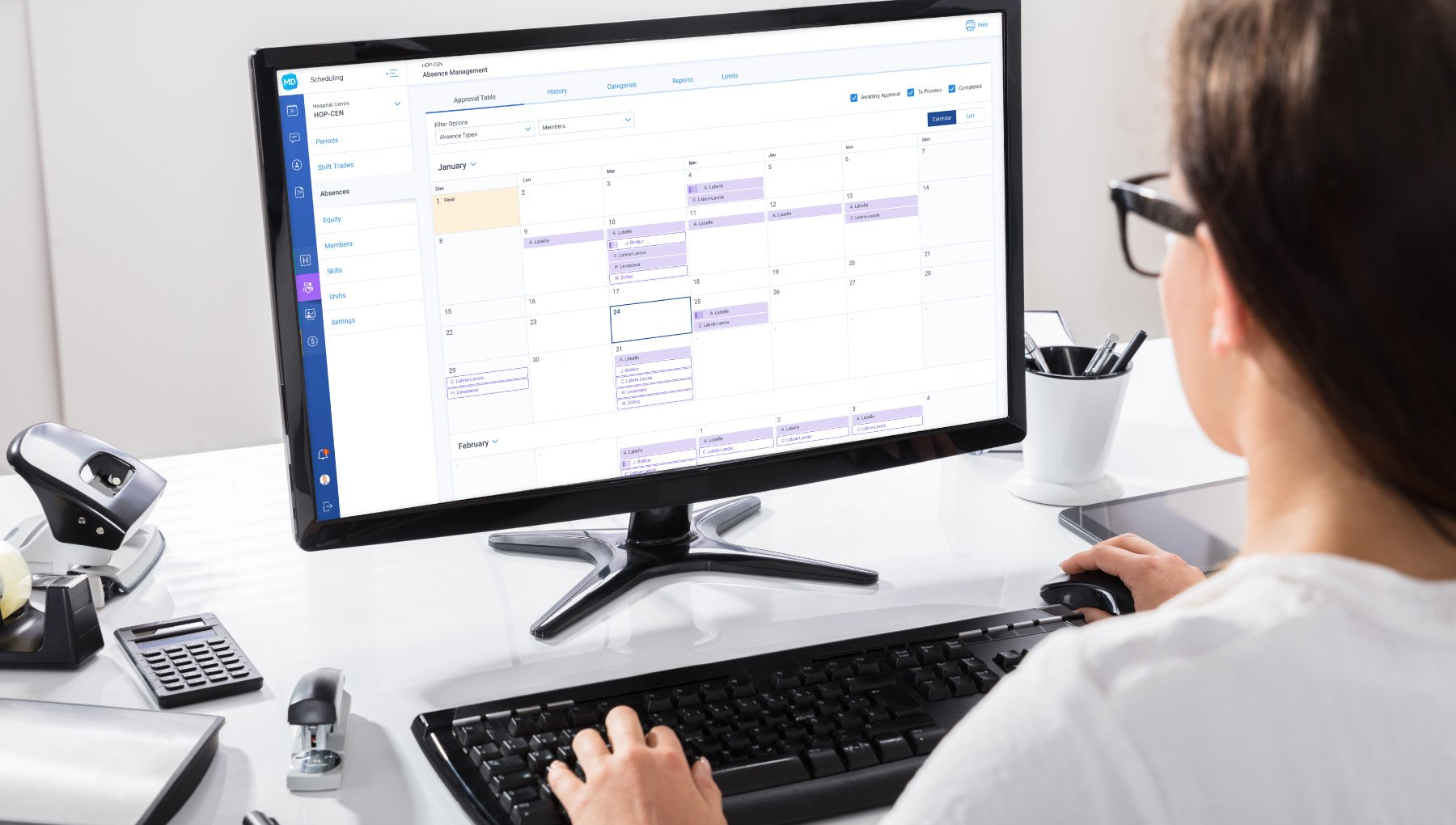 Scheduling solution for physicians