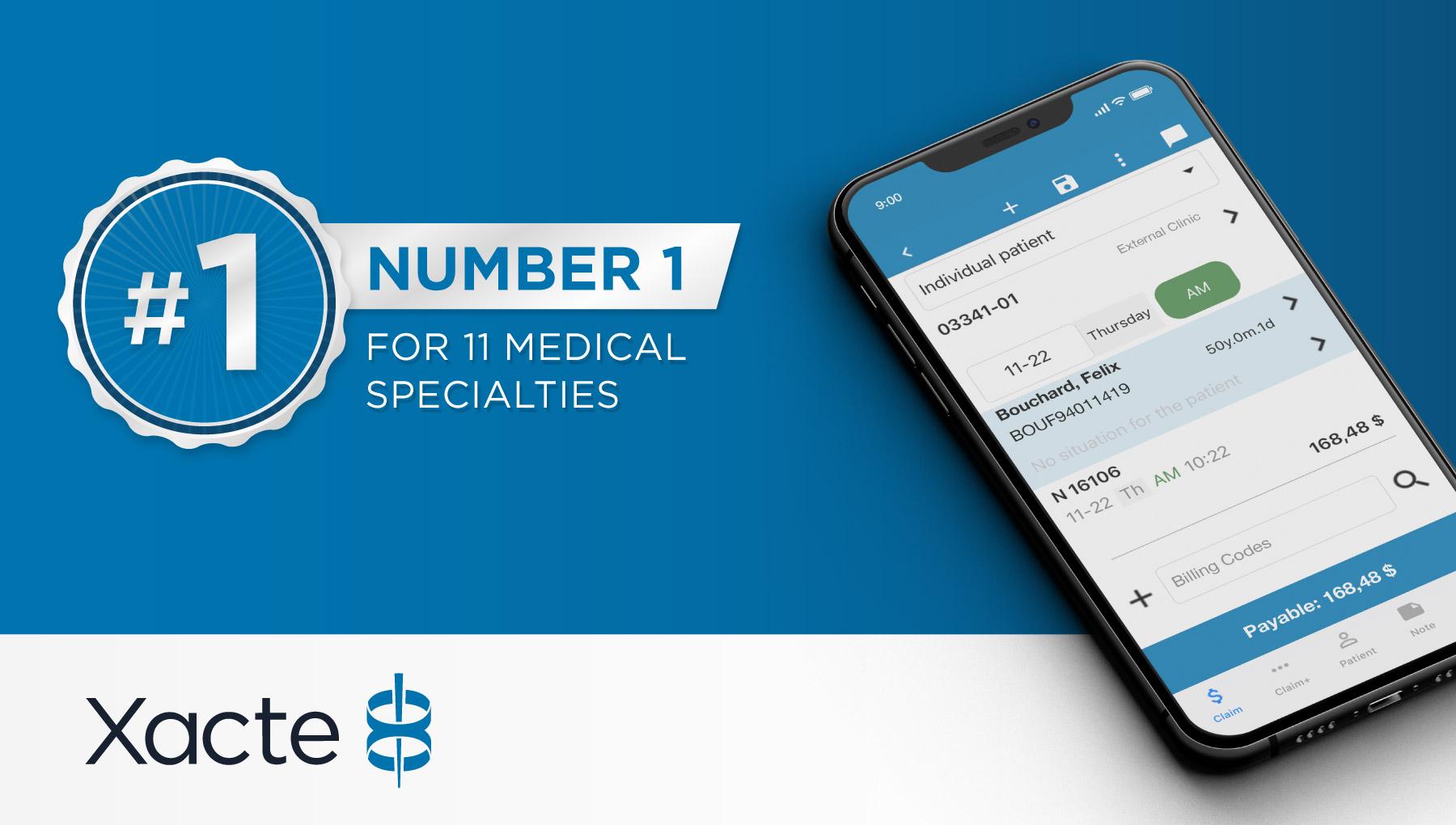 #1 RAMQ Billing Solution Medical Specialties
