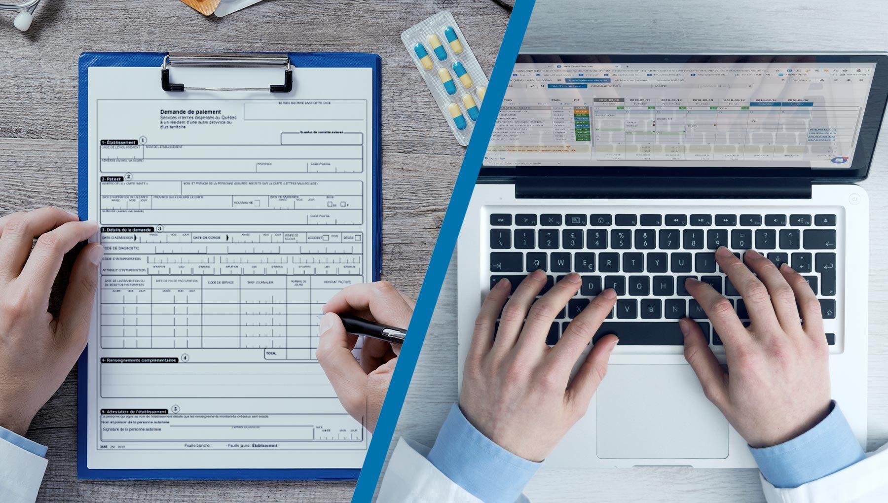 3 Major Differences Between Digital vs. Paper RAMQ Billing